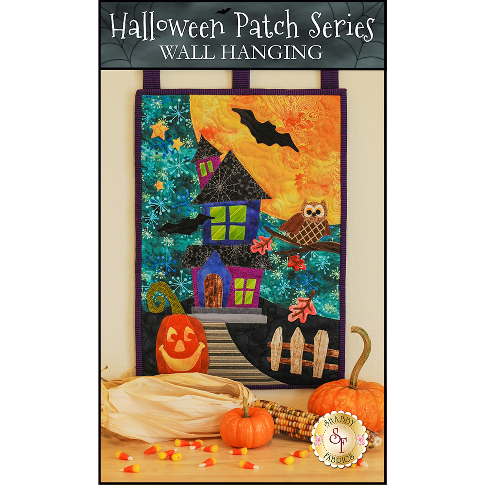 Halloween Patch Series Wall Hanging Kit - Pre-Fused/Laser-Cut