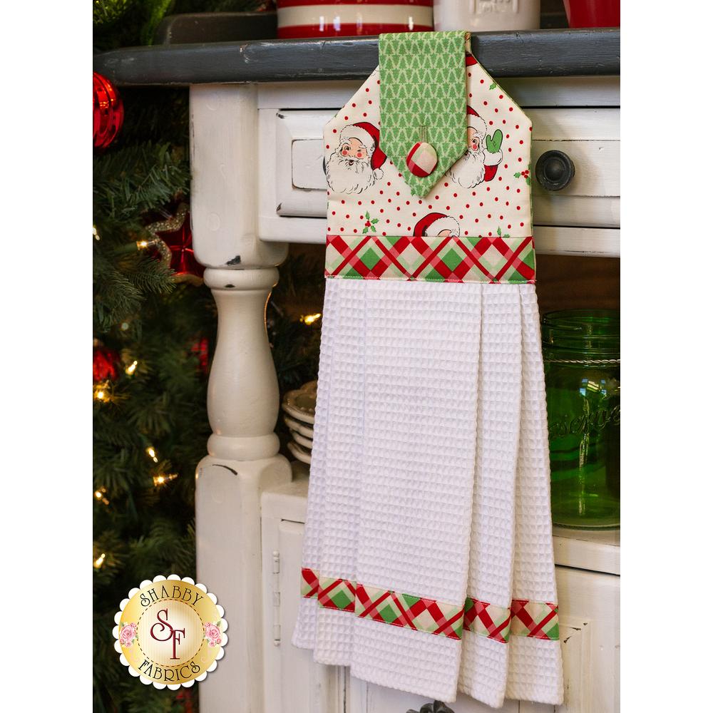 Hanging Towel Kit - Swell Christmas - Cream