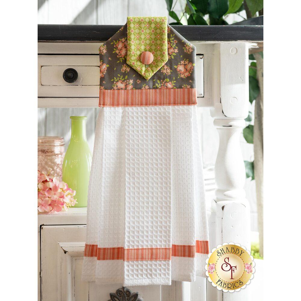 Hanging Towel Kit - Apricot & Ash - Ash