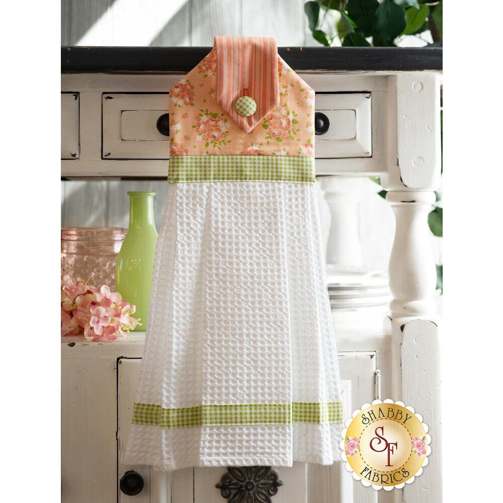 Hanging Towel Kit - Apricot & Ash - Apricot