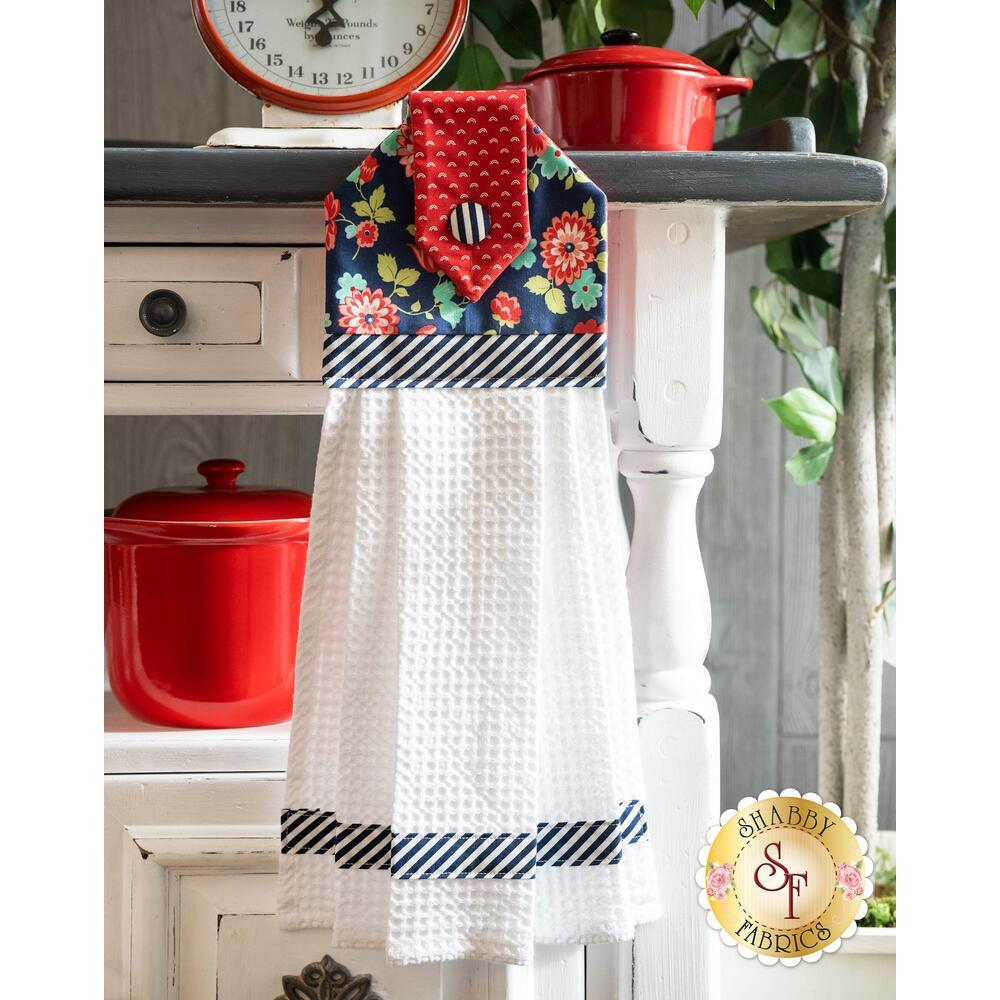 Hanging Towel Kit - Shine On - Navy