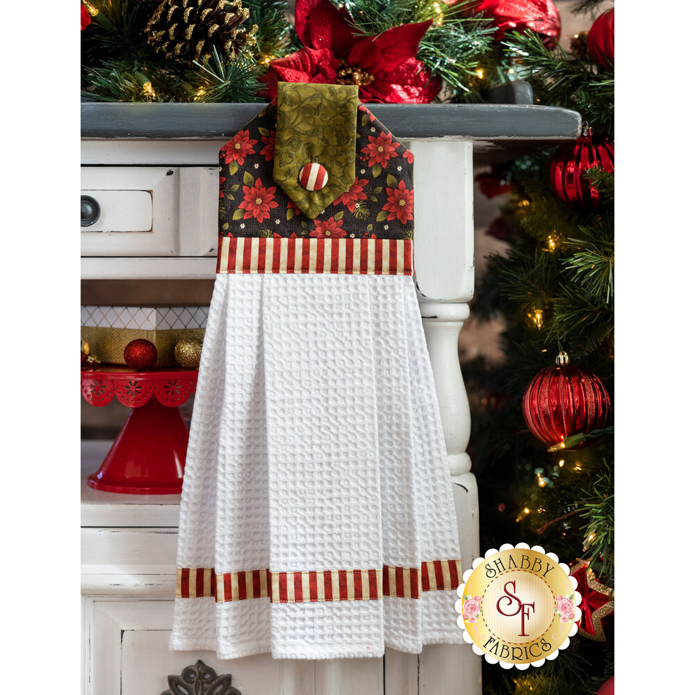 Hanging Towel Kit - Winterberry - Green