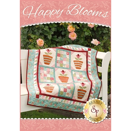 Happy Blooms Wall Hanging Kit - Pre-Fused/Laser-Cut