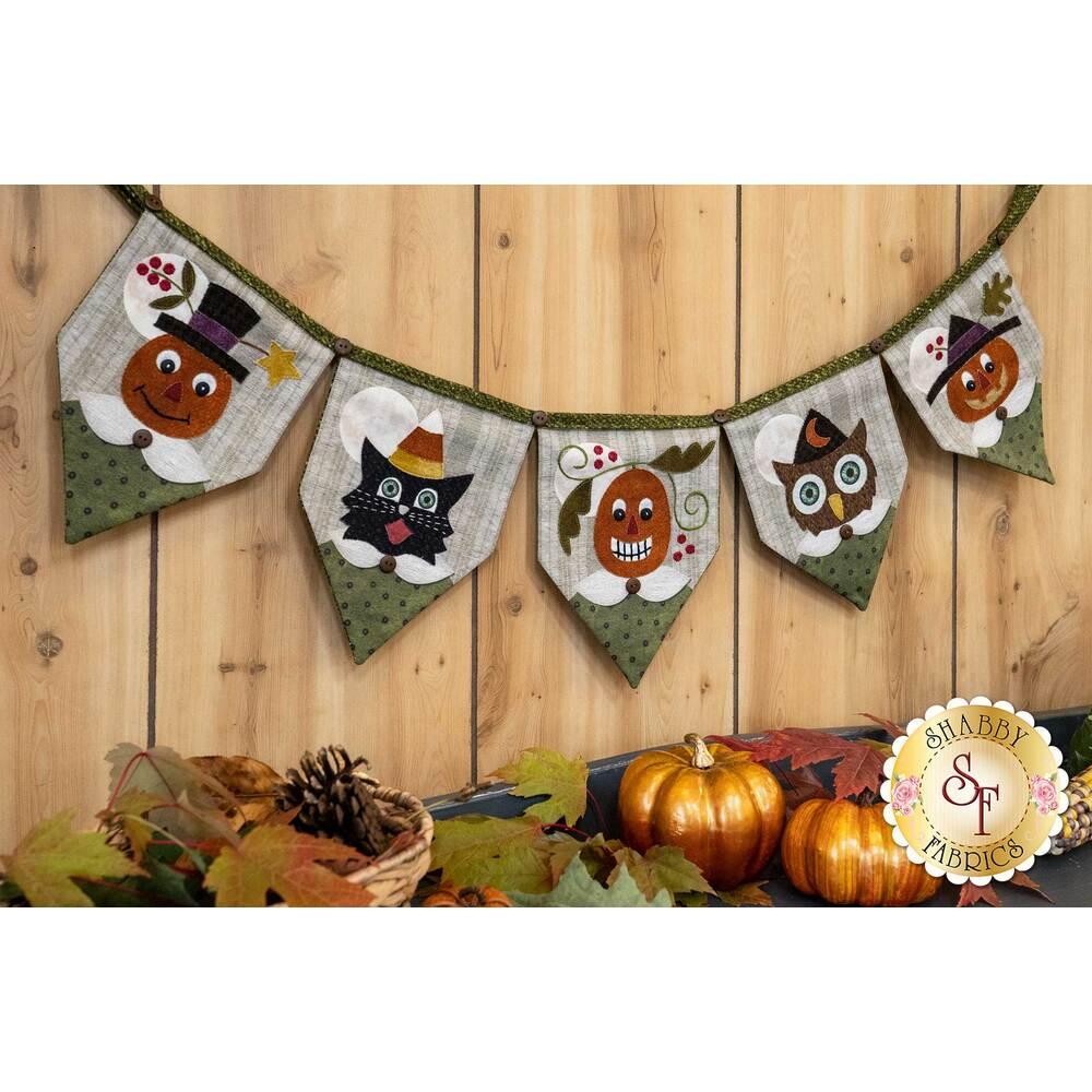 Happy Halloween Banner Kit available at Shabby fabrics