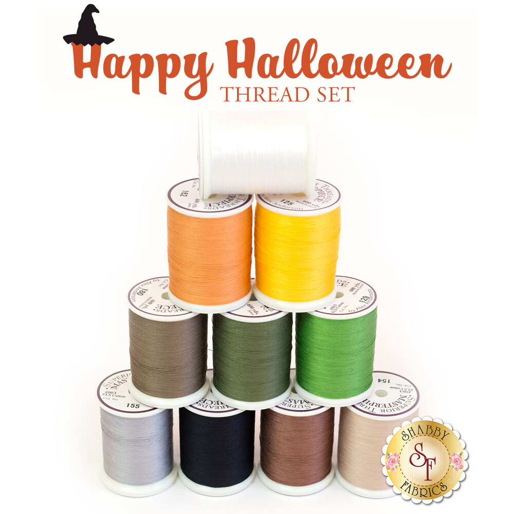 Happy Halloween BOM - 10 pc Thread Set