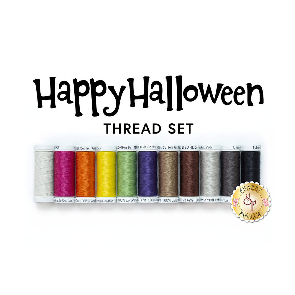 Happy Halloween - 11pc Thread Set