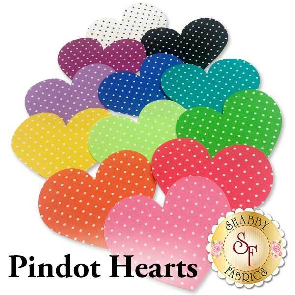 Laser-Cut Pindot Hearts - 4 Sizes Available!