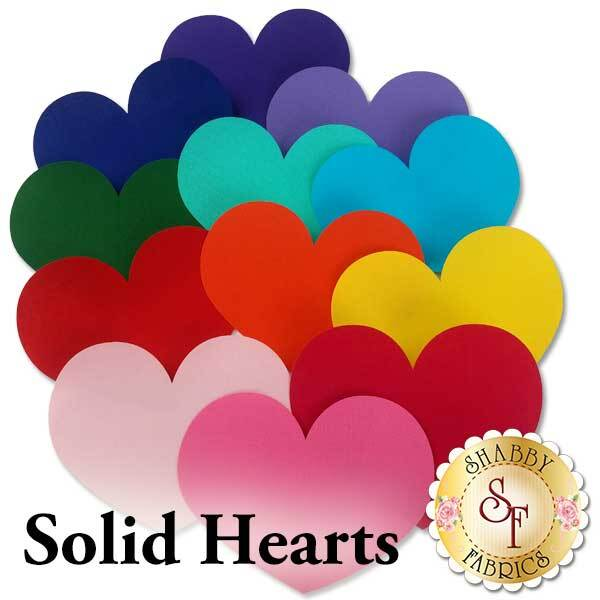 Laser-Cut Solid Hearts - 4 Sizes Available!
