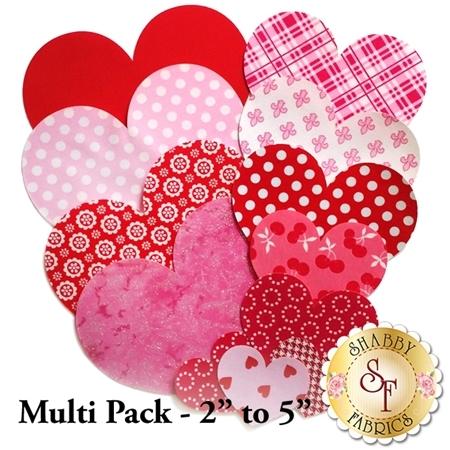 Laser-Cut Heart Set - Valentine Variety Pack