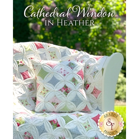 Cathedral Window in Heather Quilt & Pillow Kit