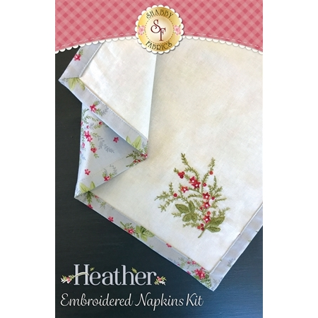 Embroidered Napkins Kit