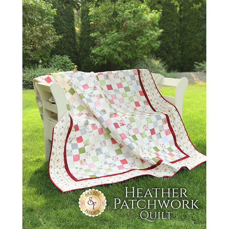Heather Patchwork Quilt Kit