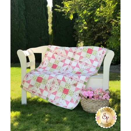 Sister's Choice Quilt Pre-Cut Kit - Heather