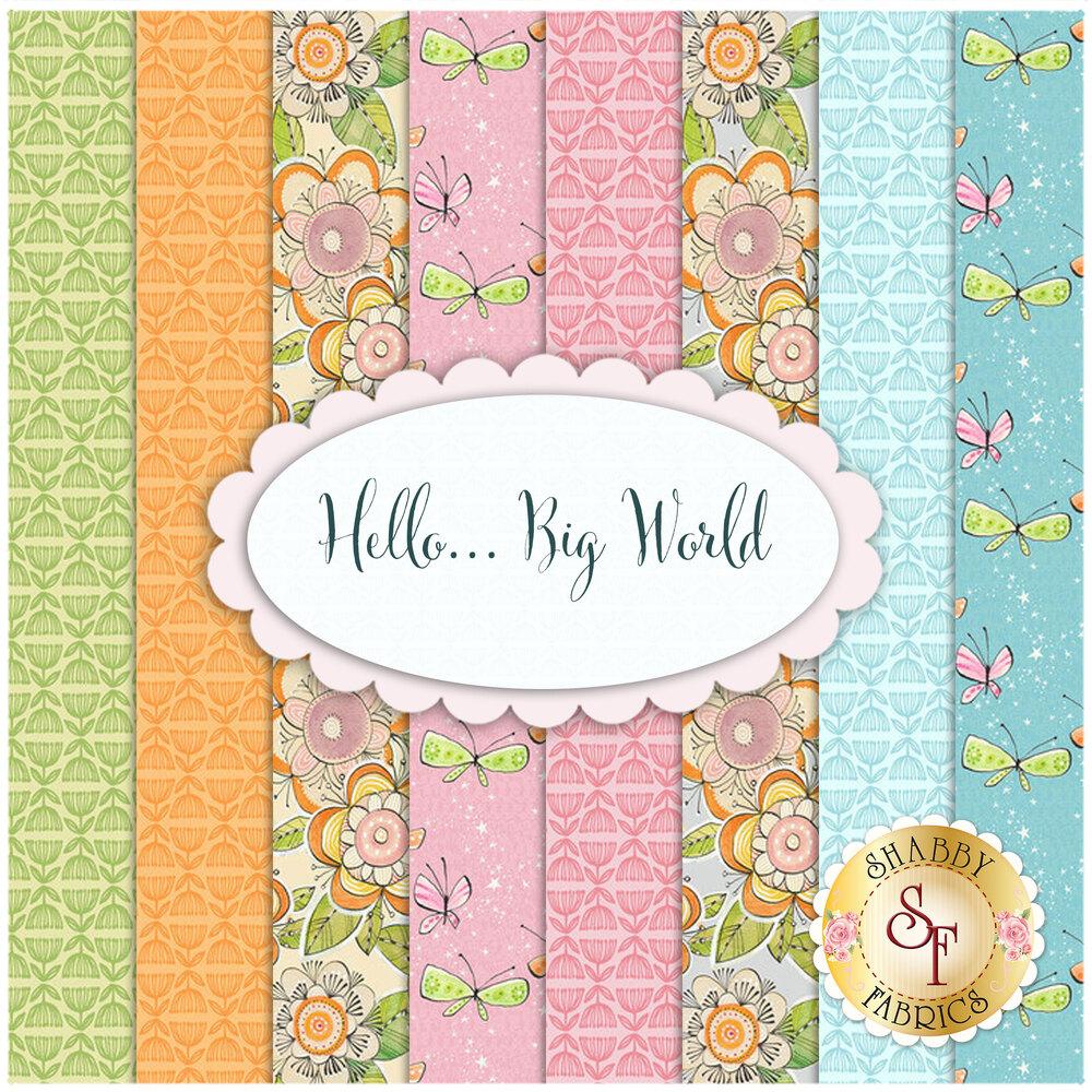 Hello... Big World  Yardage by Cori Dantini for Blend Fabrics | Shabby Fabrics