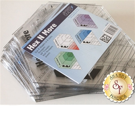Hex N More Ruler - Jaybird Quilts #JBQ-201