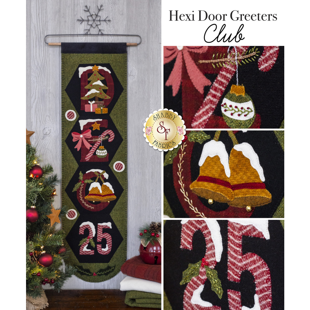 Hexi Door Greeters - Wool Club
