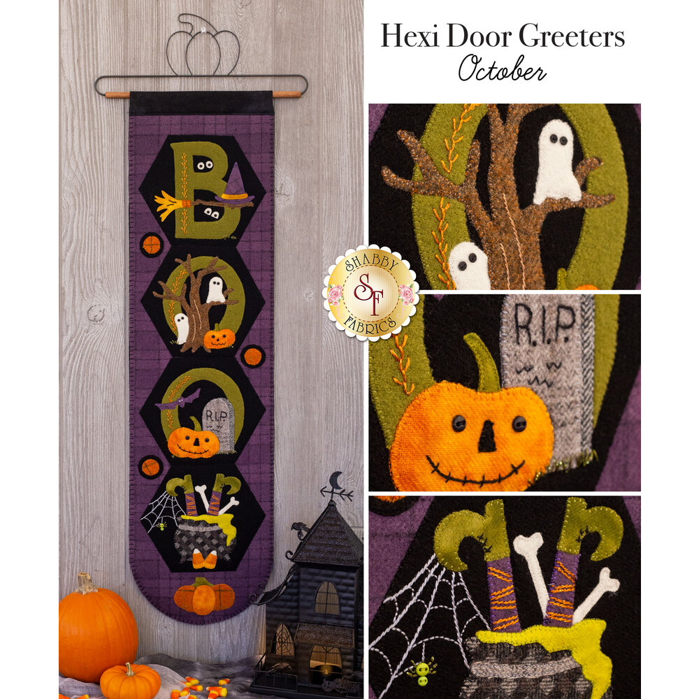Hexi Door Greeters - October - Wool Kit