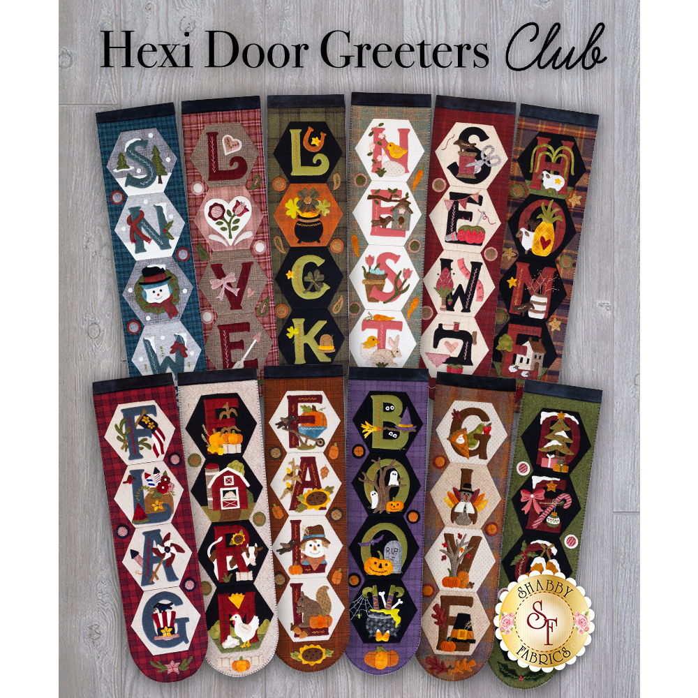 Hexi Door Greeters - Wool Club