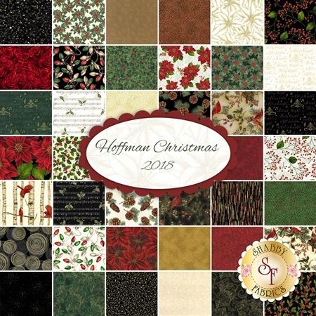 Hoffman Christmas 2018  Yardage by Hoffman Fabrics