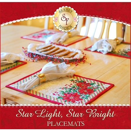 Star Light, Star Bright Placemats Kit - Makes 4!