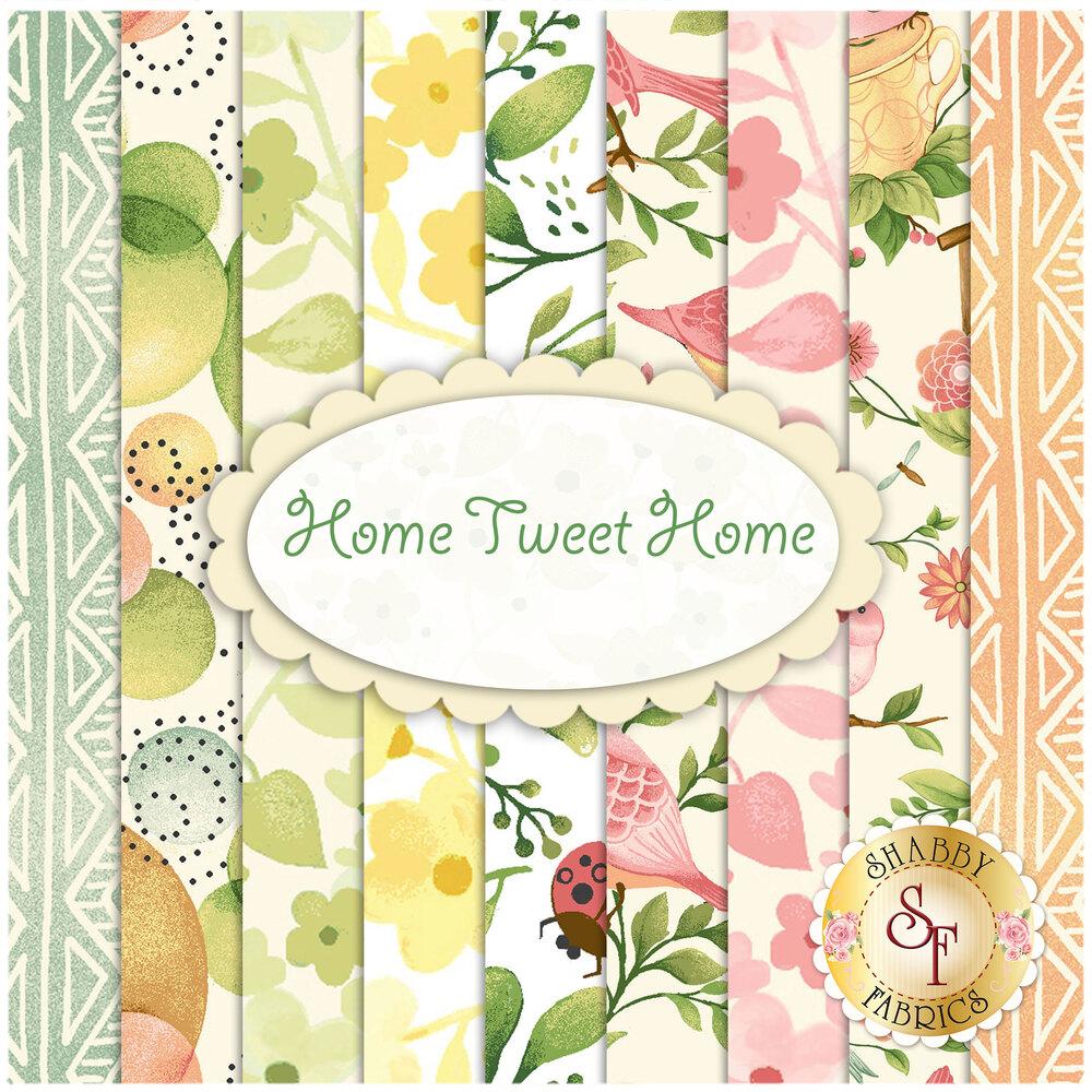 Home Tweet Home  9 FQ Set by Oasis Fabrics | Shabby Fabrics