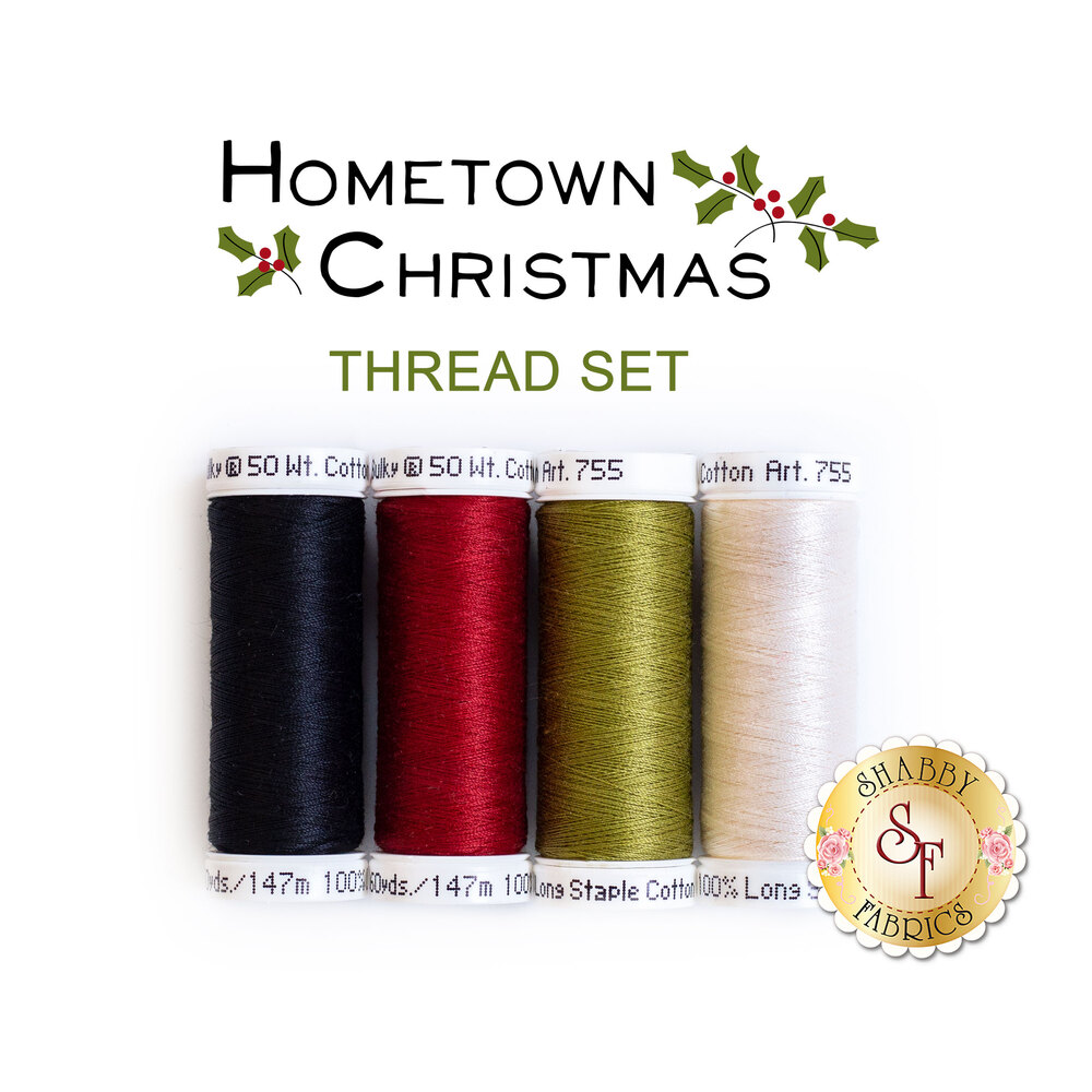 Hometown Christmas - 4 pc Thread Set