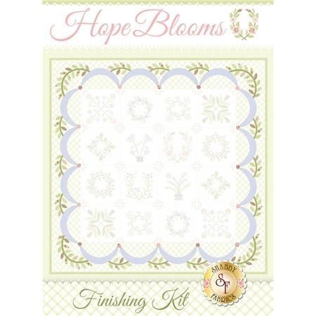 Hope Blooms Quilt - Laser-Cut Finishing Kit