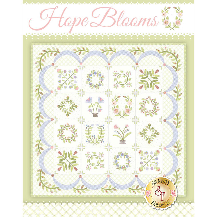 Hope Blooms Quilt - Traditional Kit