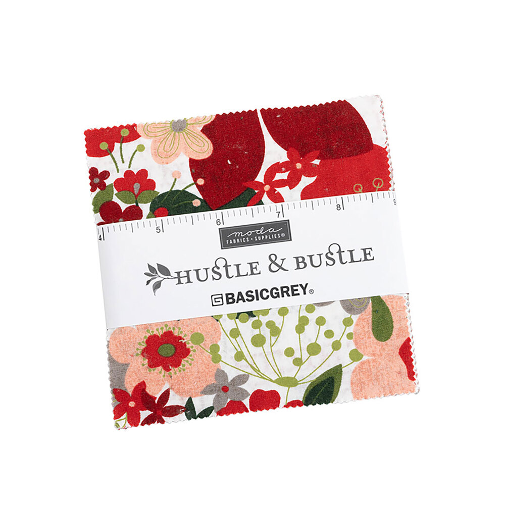 Hustle and Bustle Charm Pack on a white background