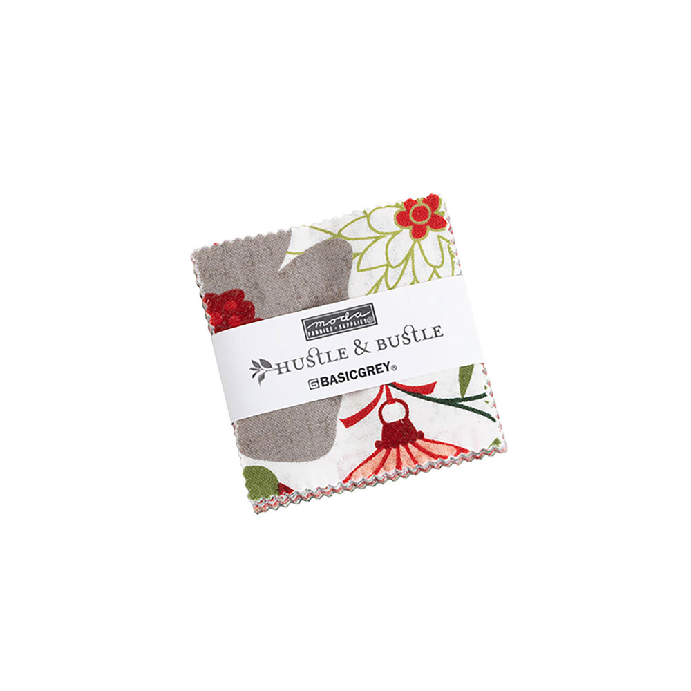 Hustle and Bustle Mini Charm Pack on a white background