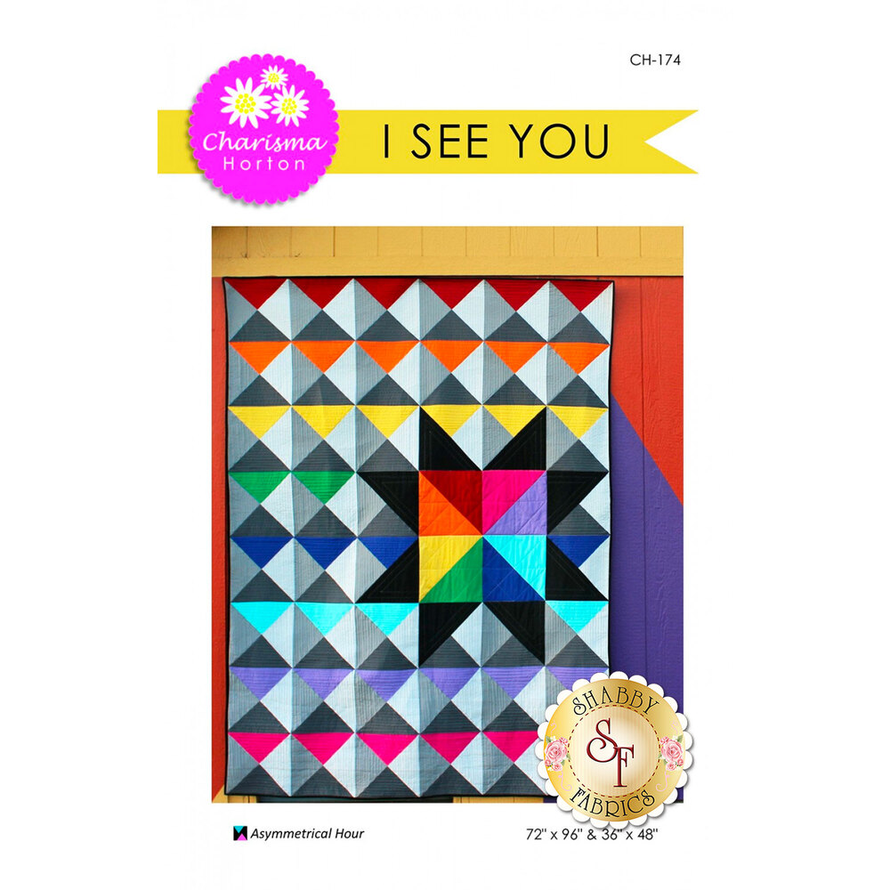 Front of the I See You pattern by Charisma Horton | Shabby Fabrics