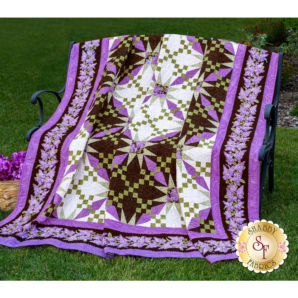 Illusion Quilt Kit Available at Shabby Fabrics