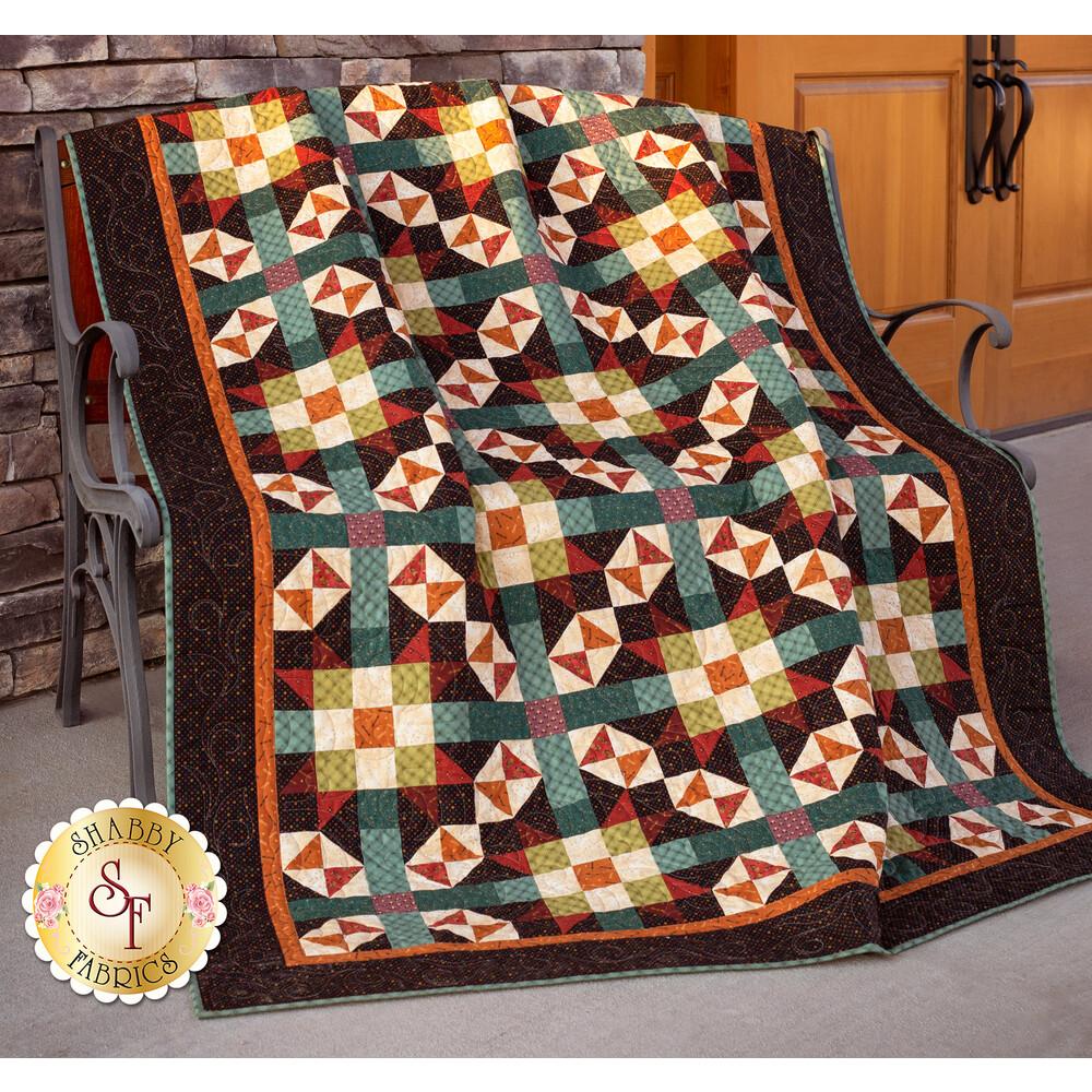 Infinity Quilt Kit available at Shabby Fabrics