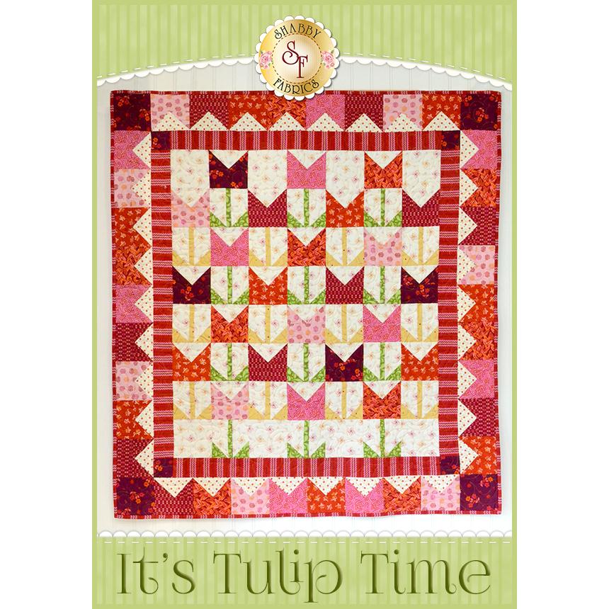 It's Tulip Time Quilt Kit