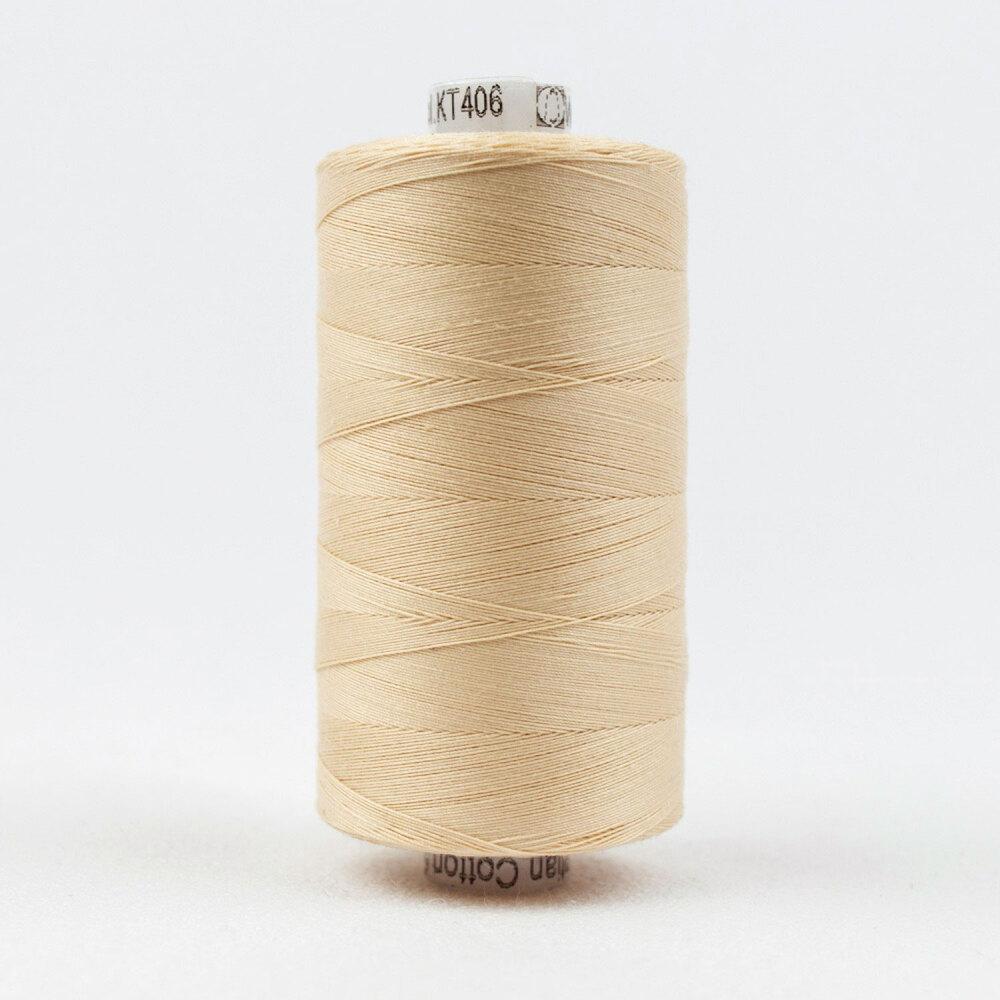 Spool of Konfetti KT406 Ivory thread | Shabby Fabrics