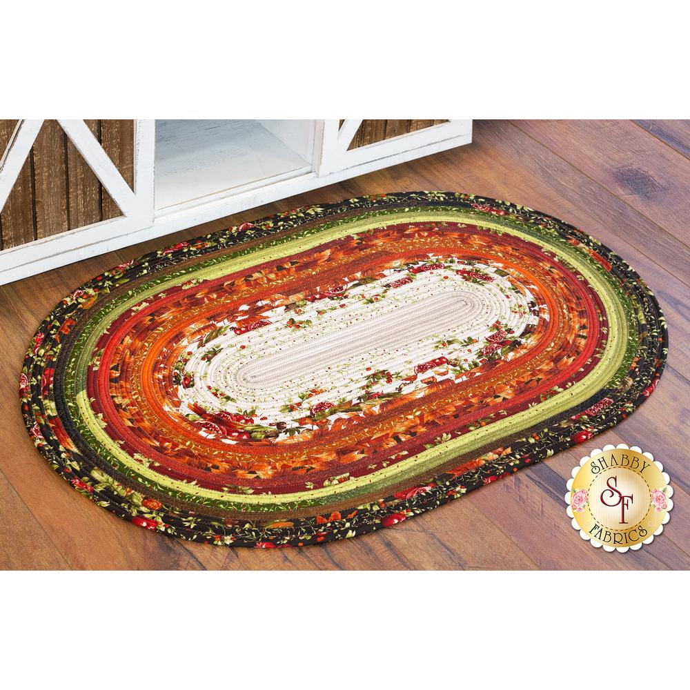 Bountiful Jelly Roll Rug Kit On Wood Floor | Shabby Fabrics