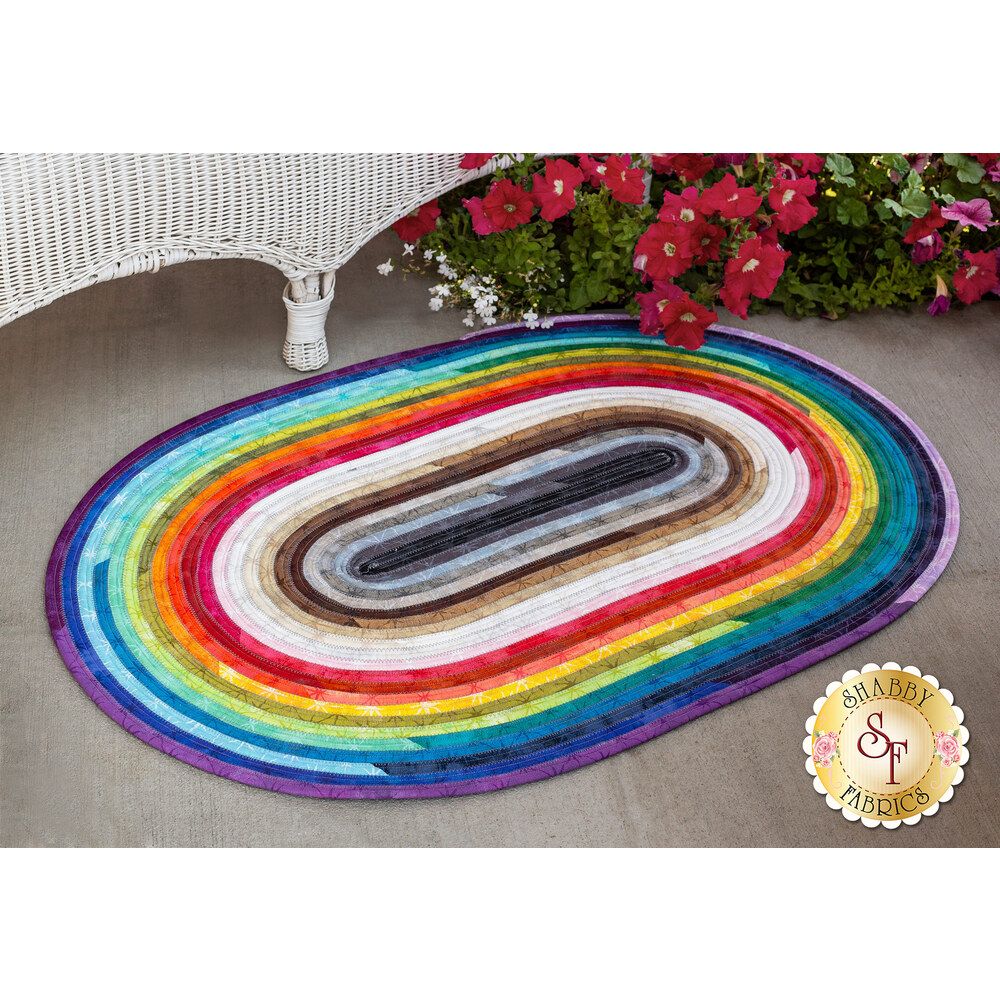 Jelly Roll Rug Kit - Grunge Seeing Stars