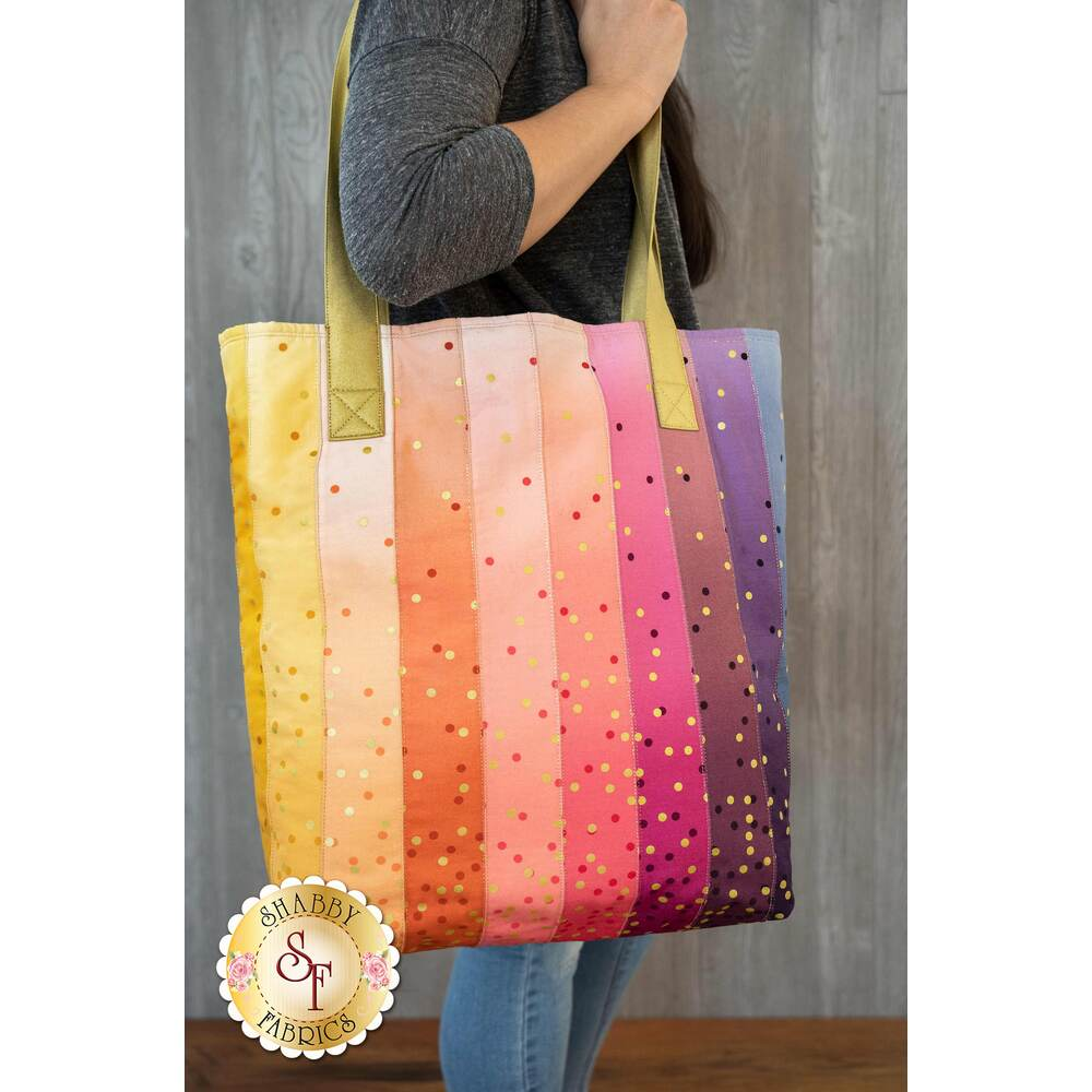 Ombre Confetti Large Jelly Roll Tote Kit