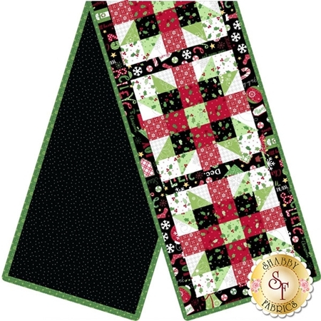 Sister's Choice Table Runner Pre-Cut Kit - Jingle All The Way