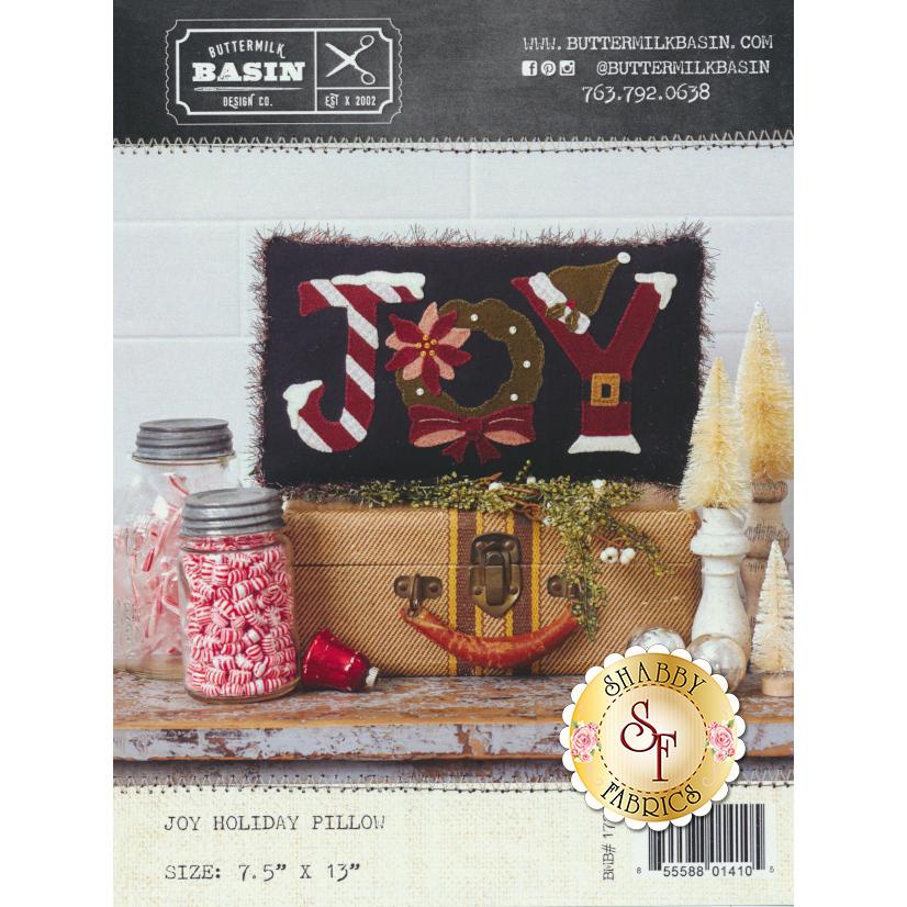 Joy Holiday Pillow Pattern