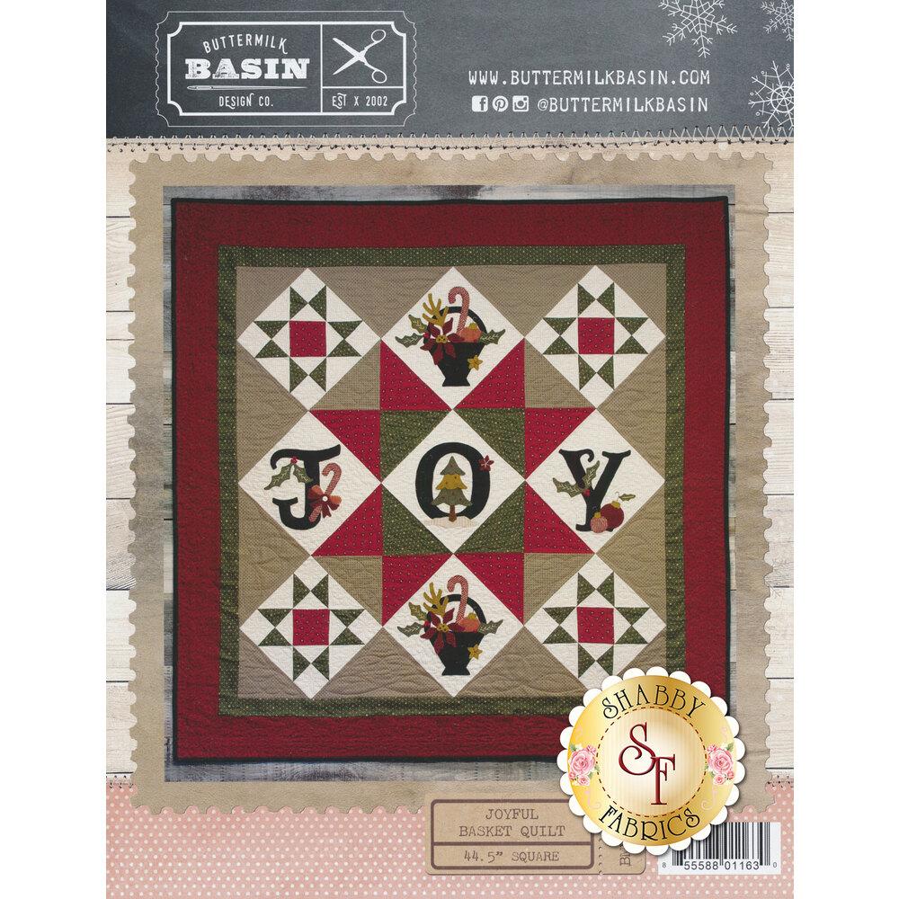 Joyful Basket Quilt Pattern | Shabby Fabrics