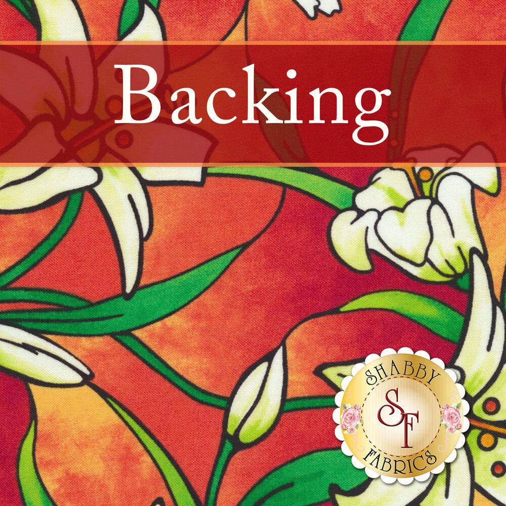 Joyful Window Quilt - Sunglow Backing - 1¾ yds