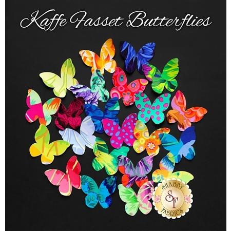 Laser-Cut Kaffe Fassett Butterflies - Limited Edition!