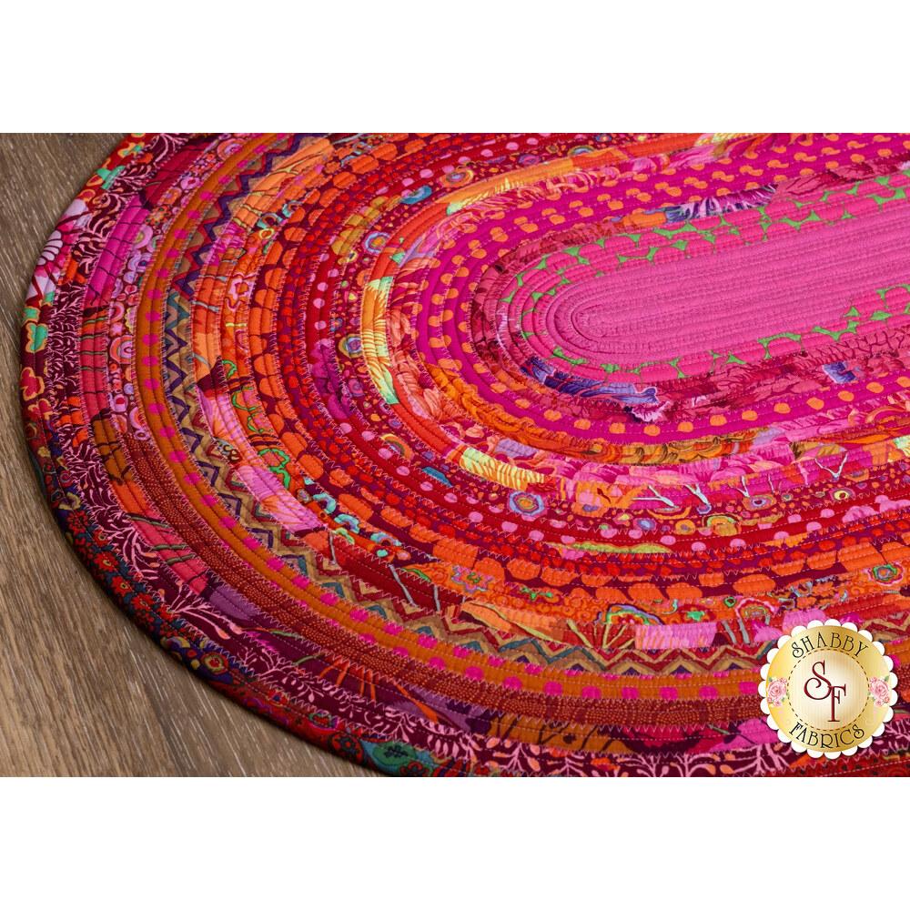 Jelly Roll Rug Kit - Lipstick available at Shabby Fabrics