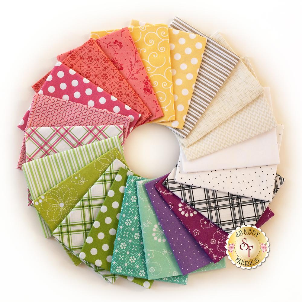 Kimberbell Basics Spring FQ Set | Shabby Fabrics