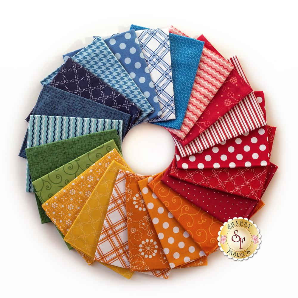 Kimberbell Basics Summer FQ Set | Shabby Fabrics