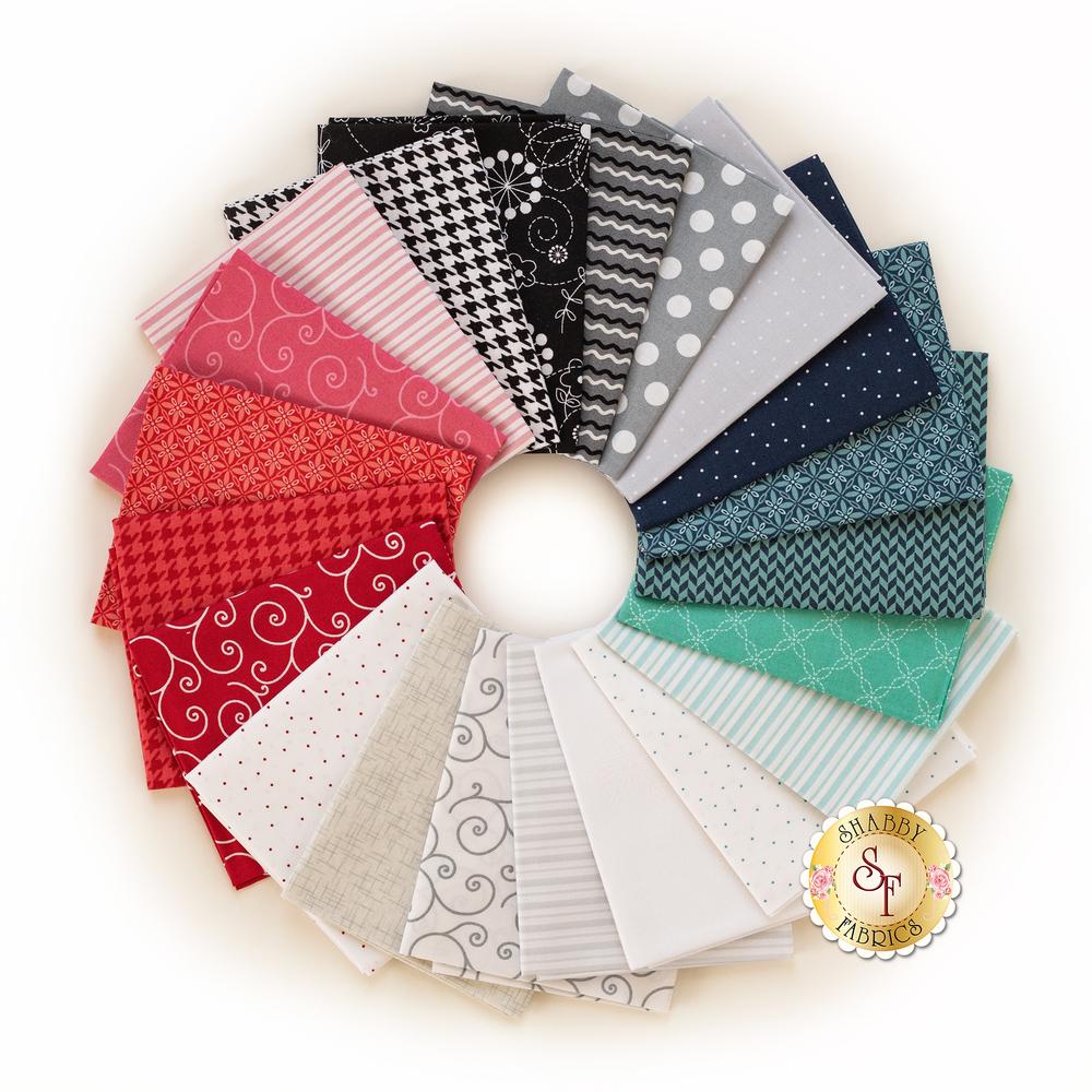 Kimberbell Basics Winter FQ Set | Shabby Fabrics
