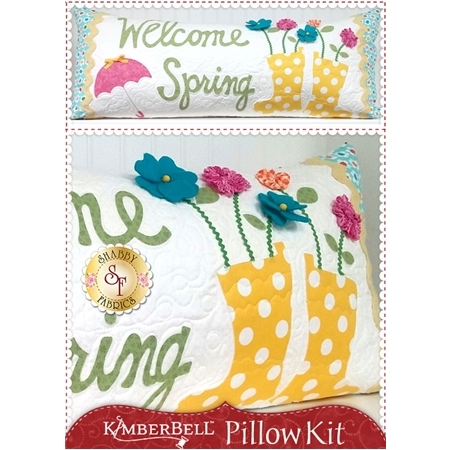 Kimberbell Pillow Kit - Welcome Spring - Laser Cut