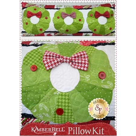 Kimberbell Pillow Kit (Pre-fused & Laser Cut) - Deck the Halls