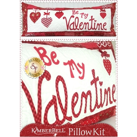 Kimberbell Pillow Kit (Pre-fused & Laser Cut) - Be My Valentine